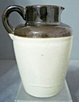 6.5 INCH STONEWARE 2 CUP MILK CREAMER OR PITCHER