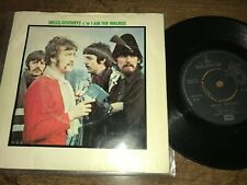 The Beatles Hello Goodbye / I Am The Walrus  UK 45 VG+ With Picture Sleeve