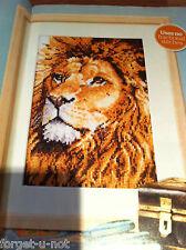 GOLDEN LION cross stitch chart BY Pollyanna Pickering and DMC
