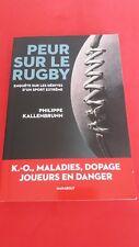 Peur sur le rugby - Philippe KALLENBRUNN - Marabout