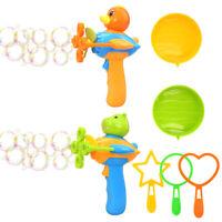 Toysery Bubble Shooter Gun Toy - Lightweight Premium Quality Bubble Gun