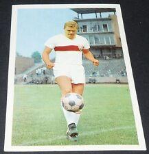 SIELOFF VFB STUTTGART FUSSBALL 1966 1967 FOOTBALL CARD BUNDESLIGA PANINI
