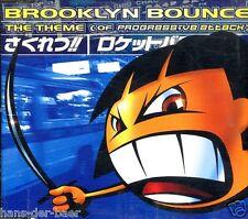 Brooklyn Bounce - The Theme (Of Progressive Attack) ♫ Maxi-Single-CD von 1996 ♫