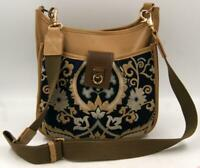 Spartina 449 Mulberry Grove Messenger Crossbody Women's Brown/Black Bag