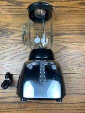 Black & Decker Crush Master 475-Watt 12-Speeds Blender Stainless CLEAN