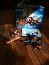 Playmobil Vintage 4291 Pirate Raft With Giant Octopus 100% Complete. Boxed.