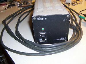 Sony model No. CMA-8 Camera Adapter / Power Supply 13VDC 5A
