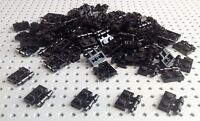 Lego Black 1x2 Plate with Handle (2540) x10 in a set *BRAND NEW* Star Wars City