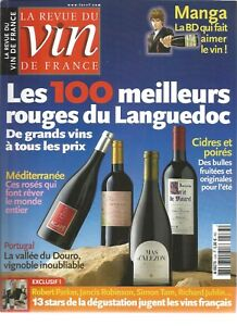 VIN DE FRANCE N°533 ROUGES DU LANGUEDOC / MANGA : LA BD QUI FAIT AIMER LE VIN
