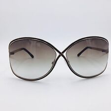 Tom Ford Rickie TF179 48F Gold Butterfly Frame w/ Gradient Green Lenses