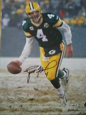 BRETT FAVRE GREEN BAY PACKERS AUTOGRAPHED 16 X 20 PHOTO