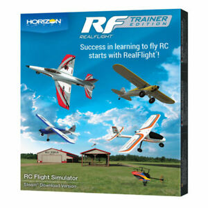 RealFlight # 1205 RealFlight Trainer Edition for Steam Download Only MIB
