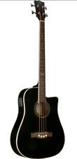 EKO NXT BASS D CW EQ BK 4 Strings Acoustic Bass guitar