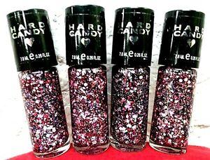 4 ~ Hard Candy # 986 Girl Crush Nail Polish 0.26 FL OZ