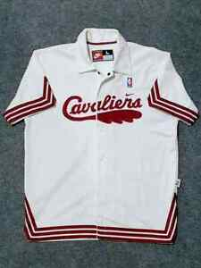 100% Authentic NBA Cleveland Cavaliers 1972 Nike Warm Up Shooting Shirt L