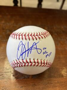 Joey Votto Signed ROMLB Baseball MLB Holo Autographed Reds 10 NL MVP Insc