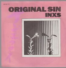 "7"" INXS Original Sin / To Look At You 80`s Mercury"
