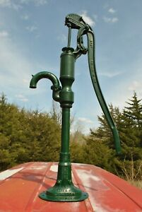 Vintage F. E. Myers Co Ashland OH Rare Gear Head Cast Iron Hand Water Well Pump