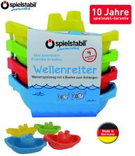 Spielstabil 3725 Wellenreiter 'Minibootset' 4er-Set (7,53€/1Stk)