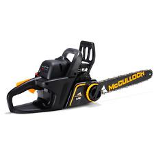 "McCulloch CS 400T Petrol Chain Saw 40cc 2 Stroke Engine 16"" Bar RRP £185"