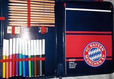 FC Bayern München Schreibmappe gefüllt Fußball Bundesliga Büro NeuLizenz,Rarität