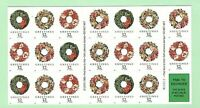 Sc # 3252c ~ 32 cent Christmas Wreath Issue ~ Booklet of 20 (ei13)