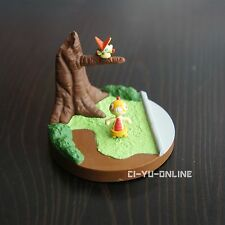 TOMY Takara Pokemon BW Zukan 1/40 Scale Figure - Victini Scraggy - New -