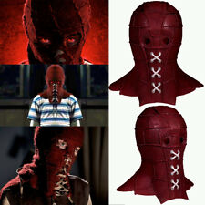 BrightBurn Red Cosplay Mask Costume Prop Horror Helmet Halloween Party Xcoser