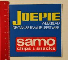 Pegatina/sticker: Samo chips & aperitivos-joepie weekblad (24021772)
