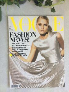 Vogue july 2007 deustch magazine german juli Fashion news mode revue allemand 7