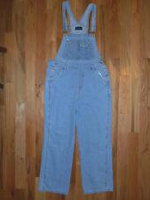 Overalls M Womens 10-12 Bibbed Pants Blue Jeans Carpenter No Boundaries 6o20