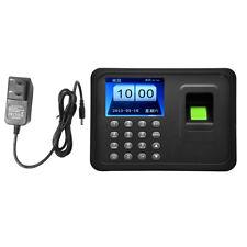 "2.4"" TFT Fingerprint Recognition Attendance Machine Time Clock Recorder US"