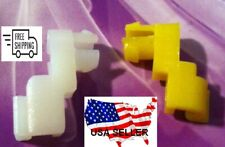 Toyota & Lexus Door Rod Clips  1983 & UP YELLOW / WHITE CLIPS(1-PAIR ) TG-9YW