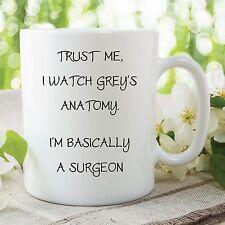 tazza di divertenti novità Grey's Anatomy Trust Me Chirurgo per caffè WSDMUG306