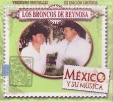 Los Broncos de reynosa Mexico y su Musica 3CDS 30 Exitos Box set New Sealed