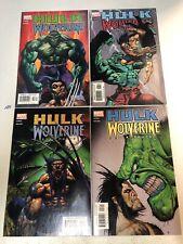Hulk Wolverine 6 Hours  #1 2 3 4 1-4 VF/NM Complete Set Simon Bisley cover art