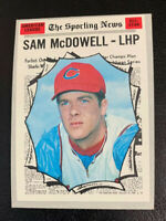 1970 Sam McDowell All Star # 469 Cleveland Indians Topps Baseball Card