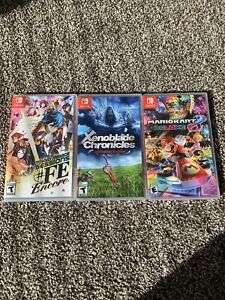 Xenoblade Chronicles DE, Tokyo Mirage Sessions FE, Mariokart 8. Switch. Sealed!
