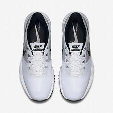 $210 Nike Mens 8 Lunar Control 3 Golf Shoes 704665 101 White Black NEW in Box