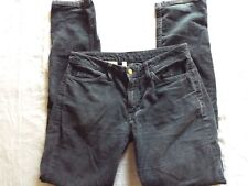 American Apparel Corduroy Pants Size 26 Womens Slate Blue Cord Pants Casual