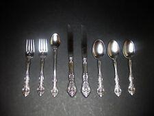 8 Pieces - Michelangelo ONEIDA Stainless Steel Salad Forks, Ice Tea Spoon, Knife
