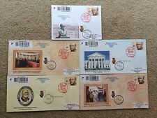 Ukraine cover FDC 200 years since the birth M Pirogov 2010 red stamp