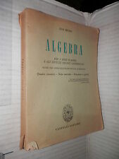 ALGEBRA Quadri sinottici note storiche paradossi e giochi Ugo Russo Cappelli di
