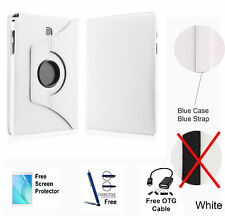 360 Rotating PU Leather Case Cover For Samsung Galaxy Tab A 8.0 T350/P350 White