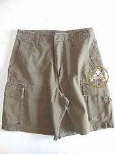 Vintage 90 UNIONBAY Bermuda M Shorts Pantaloncini Marrone 80 USATO Tasche