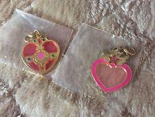 Sailor Moon Stained Glass Charm Gachapon Gashapon Set Of 2
