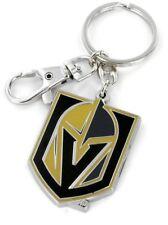 NHL Vegas Golden Knights Heavyweight Keychain Team Logo Key Ring