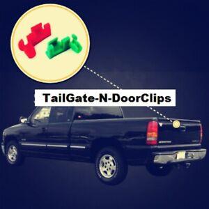 Tailgate / Door Rod Clips GENERAL MOTORS Pontiac & more 85 & up 1-PR OEM-4