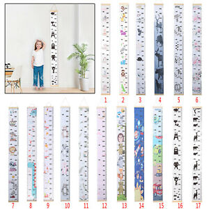 Kids Height Growth Ruler Chart Children Wall Hanging Personalised Measure Wooden