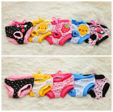 Cute Physiological Pants Diaper Sanitary Dog Shorts Panties Briefs Female Dog